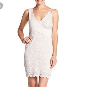 Free people bodycon mini dress XS
